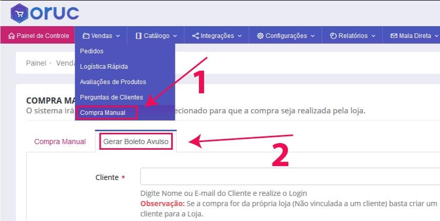 Gerar Boleto Avulso - Como configurar e homologar boleto bancário do Bradesco na Oruc