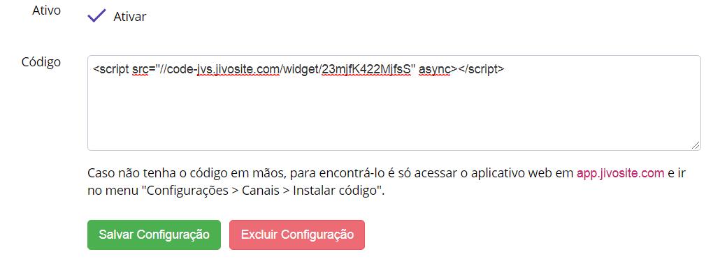 Script JivoChat