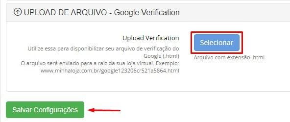 Upload Verification Google