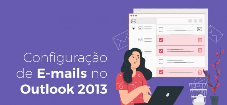 Configuração de e-mails no Outlook